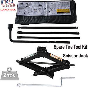 spare tire tool kit  chevrolet chevy gmc silverado sierra  scissor jack