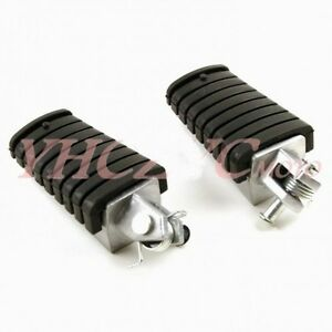 Foot Pegs Front Footrest for Yamaha Dragstar V-Star XVS250 00-12 XVS400 96-12
