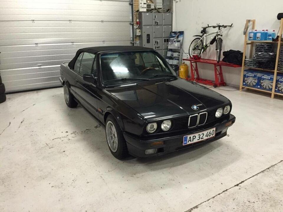 BMW 318i, 1,8 Cabriolet, Benzin