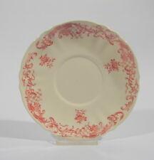 Villeroy & Boch Mettlach Valeria rot Untertasse für Suppentasse 16,5 cm Keramik