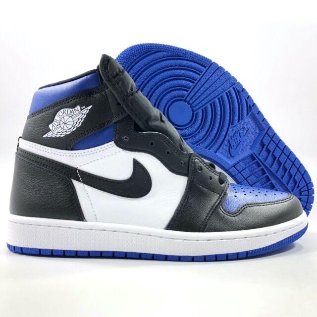 Nike Air Jordan 1 Retro High Bg Soar Size 6y Blue Black White