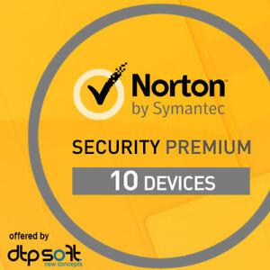Norton Security Premium 2019 10 Ger 228 Te 1 Jahr Pc Mac 10 Pc