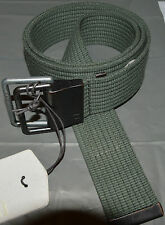 "New G Star Raw YOTA Belt up to 30"" waist adjustable mens/women Green canvas"
