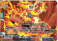4x Bal Dragon, Extreme Rage Balbarian! Buddyfight Promo Rare HOT MINT FREE SHIP