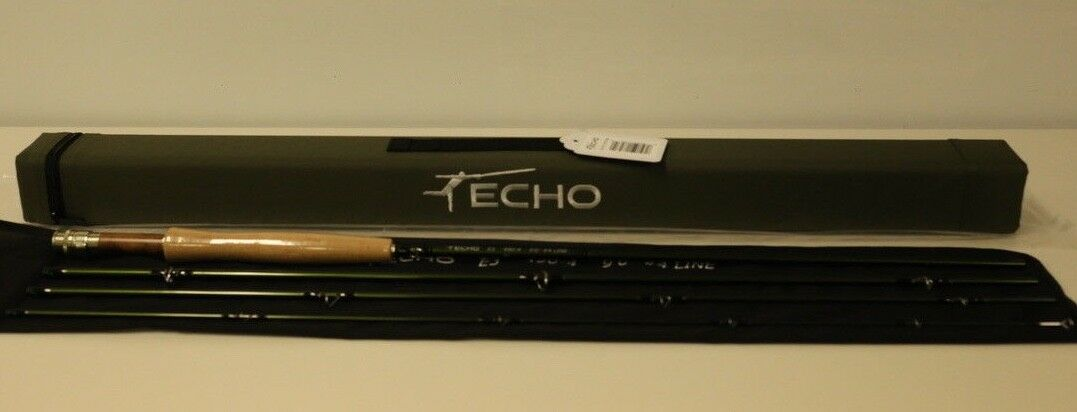 Echo 3 Fly Rod 9' 4 WT Freshwater FREE LINE & FAST SHIPPING