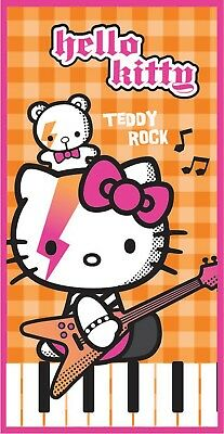 Extra Large New Hello Kitty Teddy Skirt Towel Girls Kids Beach Bath Ebay