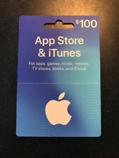 Apple 100$ App Store and iTunes Gift Card (ITUNES0114100)