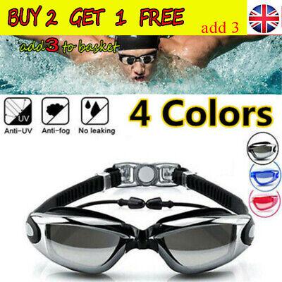 Proworks Anti Fog Swimming Goggles for Men Women Boys Girls Adult Junior KidsAT