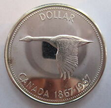 1967 CANADA SILVER DOLLAR PROOF-LIKE COIN - A