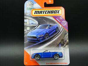 MBX Highway Matchbox 2020-2018 Ford Mustang Convertible 54 neu in OVP