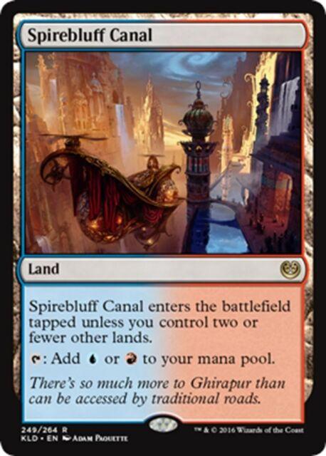 MTG Magic - (R) Kaladesh - Spirebluff Canal - SP