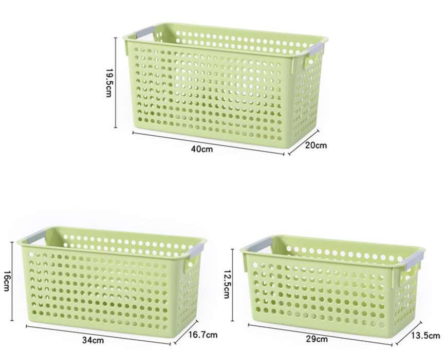 Home Design Ideas Pictures: 6 Pack Stackable Storage Baskets Organizer Bins Tray Home