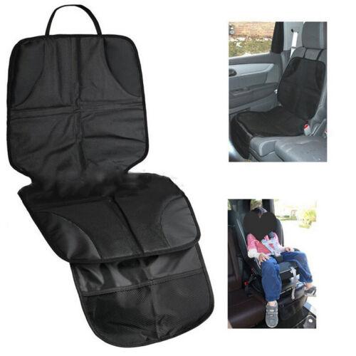Autositzauflage Sitzschoner Sitzschutz Kindersitzunterlage Schonbezug Schwarz