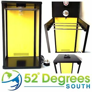 Biltong-Maker-Box-Yellow-Back-Panel-Beef-Jerky-Dehydrator-Spice-FREE-Spice