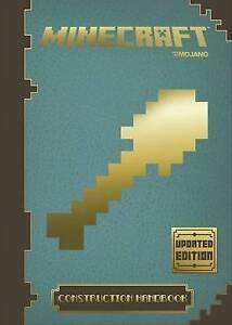 Minecraft-Construction-Handbook-Updated-Edition-Mojang-AB-Very-Good-Book