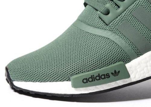 Adidas De Los Hombres Nmd R1 Verde fV65a