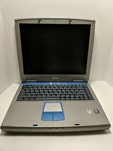 Dell-Inspiron-1100-PP07L-Laptop-Computer-Windows-XP-Home-14-034-For-Parts-or-repair
