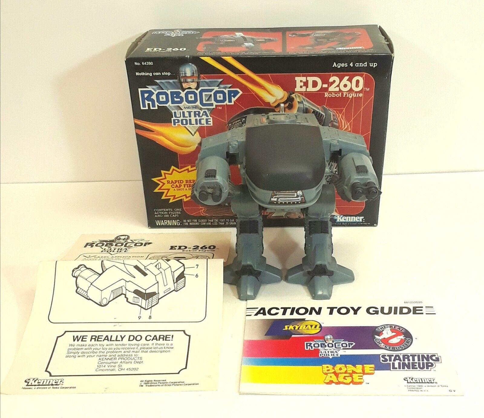 1988 Robocop Ultra Police ED-260 (ED-209) Robot Figure Kenner 64390