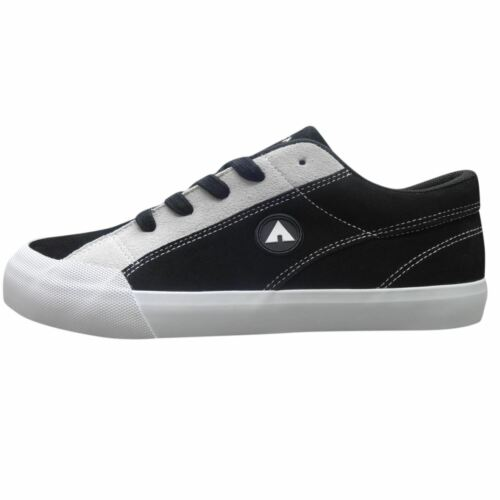 Airwalk Mens Skate Shoes Walking Footwear Lace Up Trainers Padded Ankle Collar