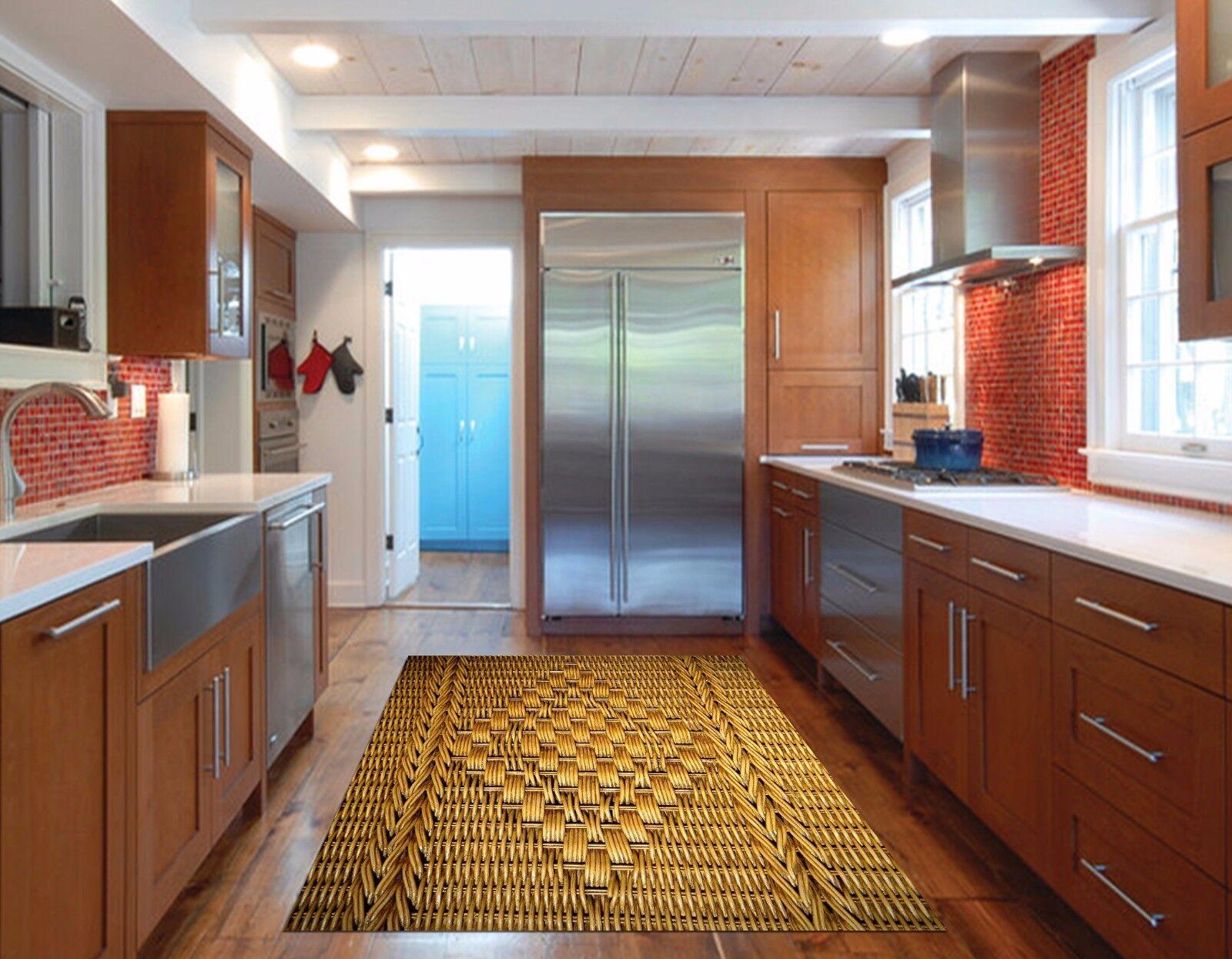 3D Weave Texture 78 Kitchen Mat Floor Murals Wall Print Wall Deco UK Carly