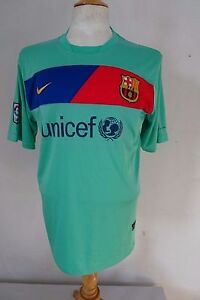 BARCELONA-Maillot-Exterieur-2010-11-Nike-13-Taille-L-079-W