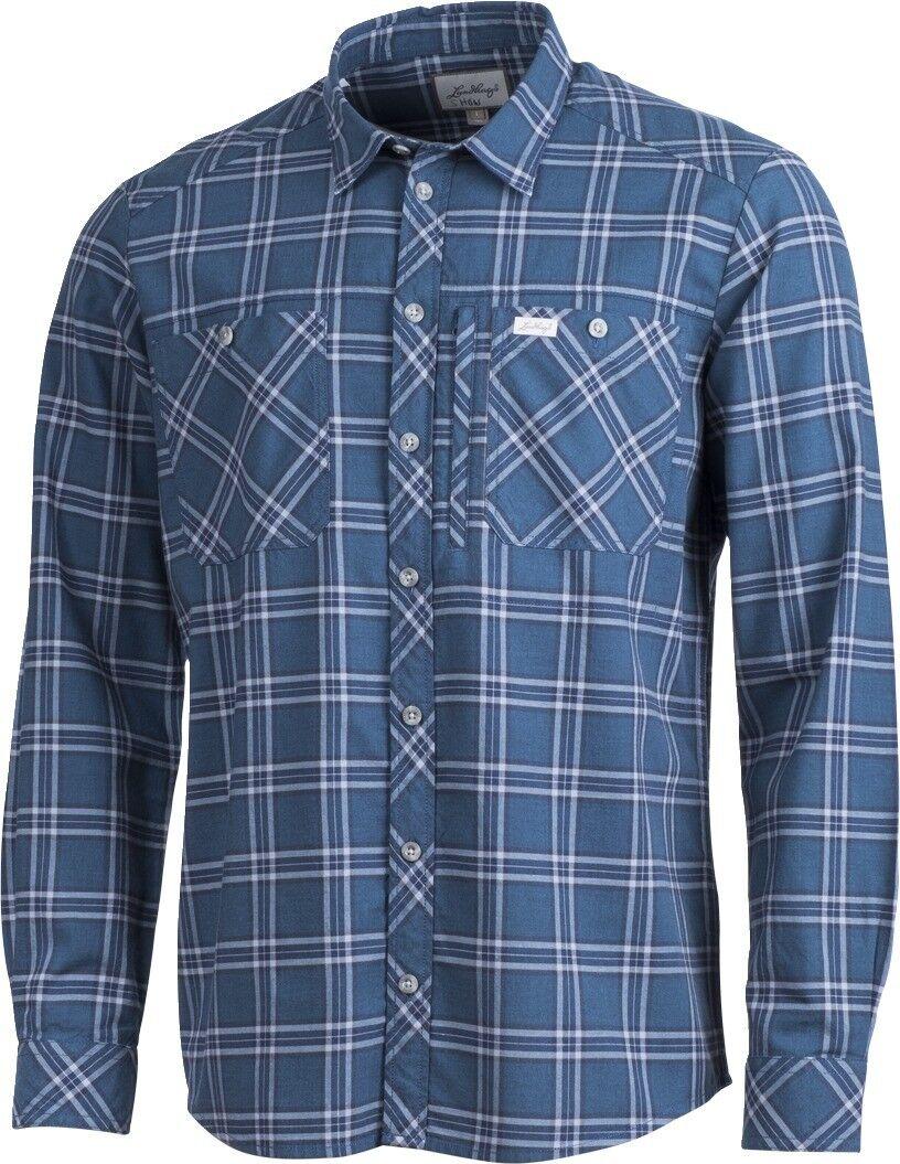 Lundhags Jaksa LS Outdoorhemd (petrol)  | Niedriger Preis