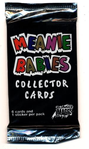 Meanie Babies Trading Card Pack