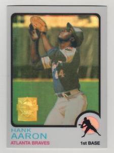 2000-Topps-Hank-Aaron-Chrome-Refractor-Reprint-20-Atlanta-Braves-BV-25