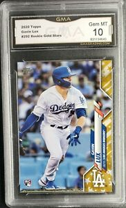 Gavin Lux 2020 Topps Factory Sets Gold Stars Parallel SP GMA 10 GEM MINT 🔥🔥🔥