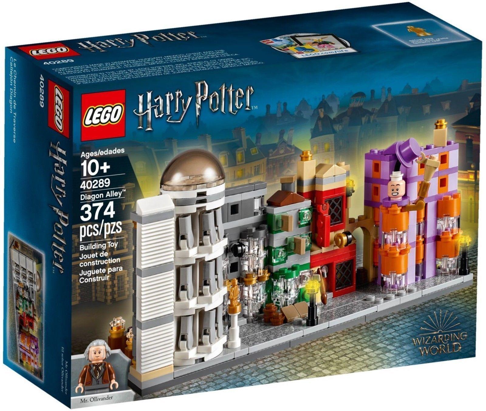 LEGO 40289 Harry Potter Diagon Alley Micro Build 374pcs  *NEW*