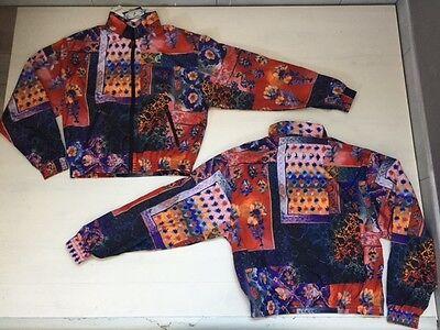 2800 Australian Giacca Hc Vintage R Flower Rhapsody Hardcore Gabber Jacket /30