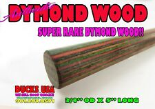 "Blackwood Tazmanian Curly Pen Blank 3//4/"" x 5/"" 1 pc"