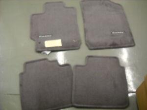 Genuine Toyota Accessories PT206-32100-12 Custom Fit Carpet Floor Mat Gray