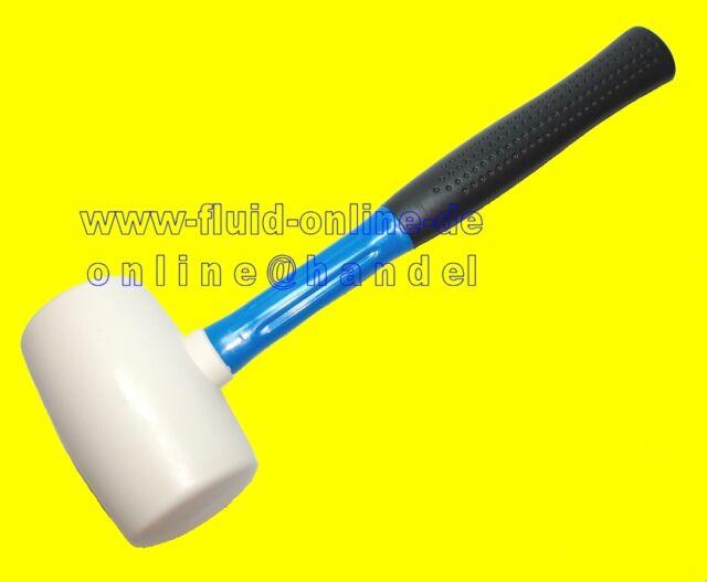 Gummihammer 750g Schonhammer Kunststoffhammer Hammer mit Gummikopf