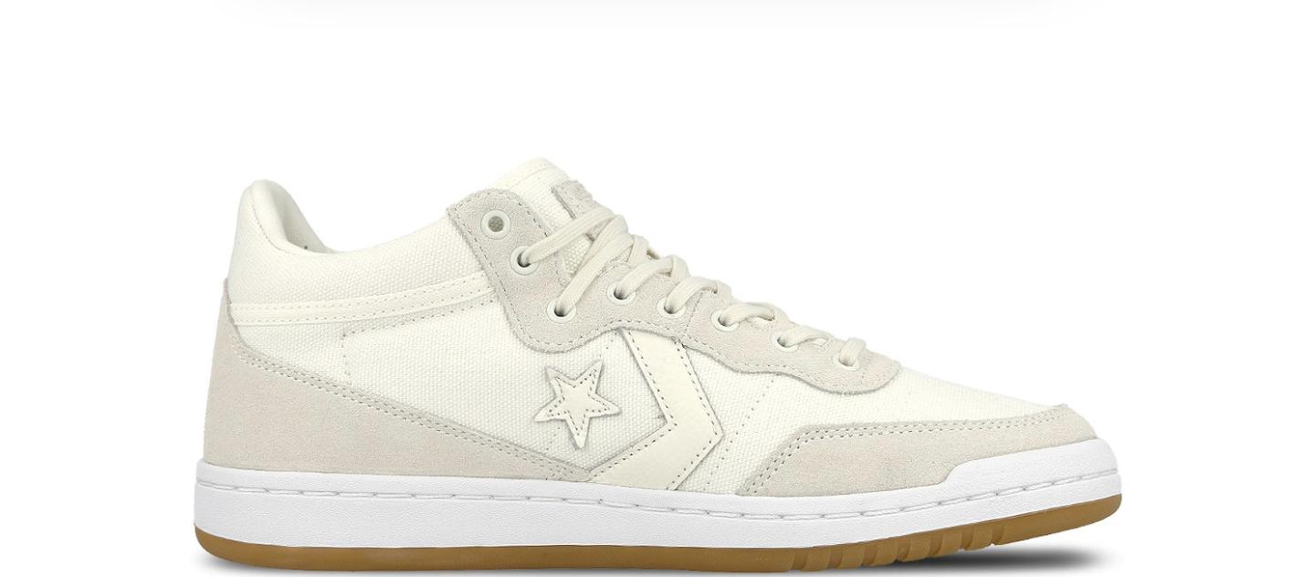 NEW  Converse Fastbreak Mid 160578C Egret Egret White shoes n1