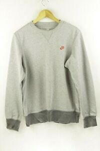 VINTAGE-Mens-NIKE-Sweatshirt-ATHLETIC-FESTIVAL-SWOOSH-Fleece-SWEATER-Medium-P97