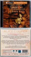 "ALICE COOPER ""Brutally Live"" (CD+DVD(all zone))  NEUF"