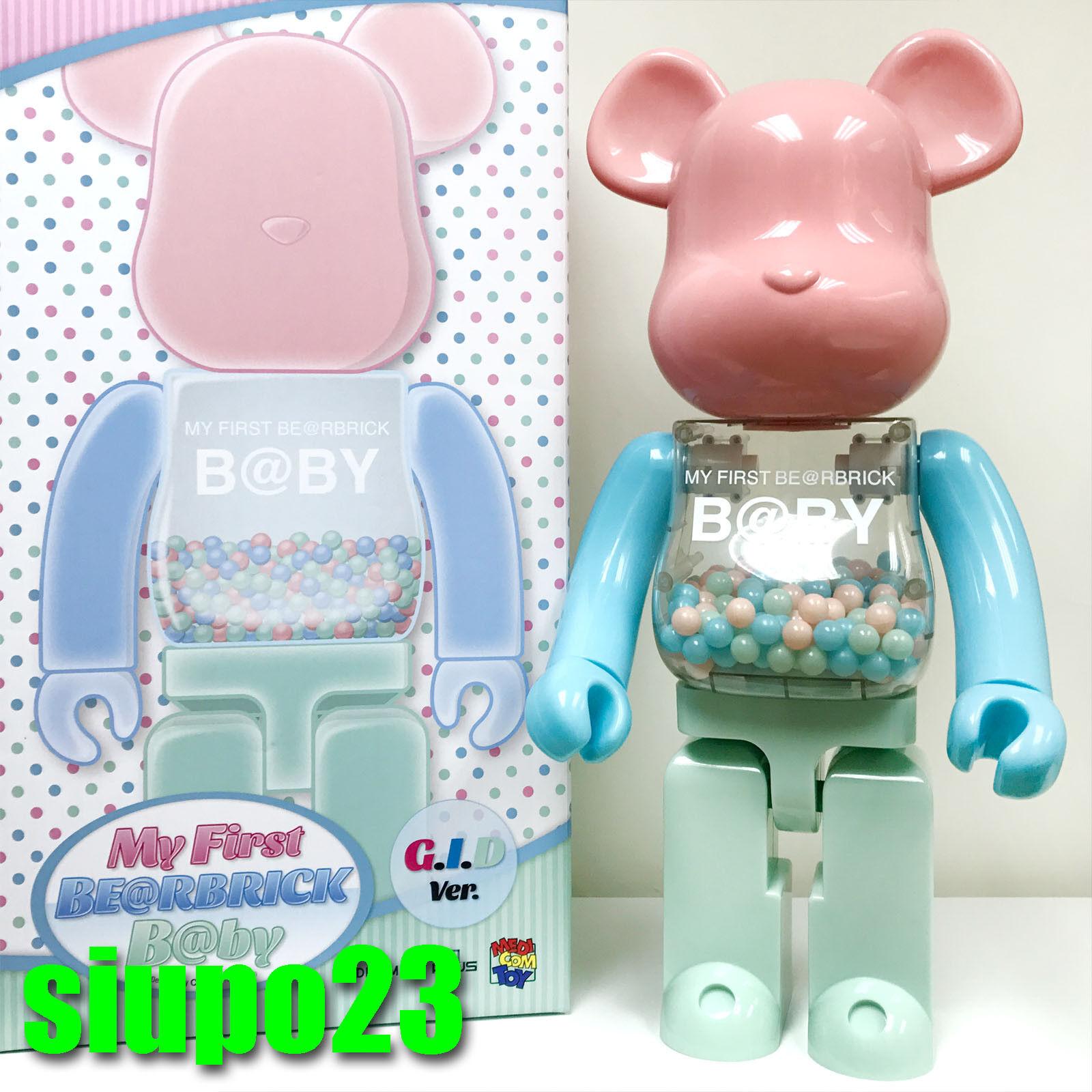 Medicom 1000% Bearbrick  mi primer bebé GID versión versión versión Be@rbrick Medicom Juguete Plus  barato y de alta calidad
