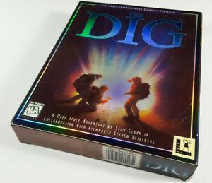 The-Dig-by-LucasArts-1995-IBM-PC-Spiel-Big-Box-BigBox-Holobox-OVP-CIB-sgZ-DEU-VG