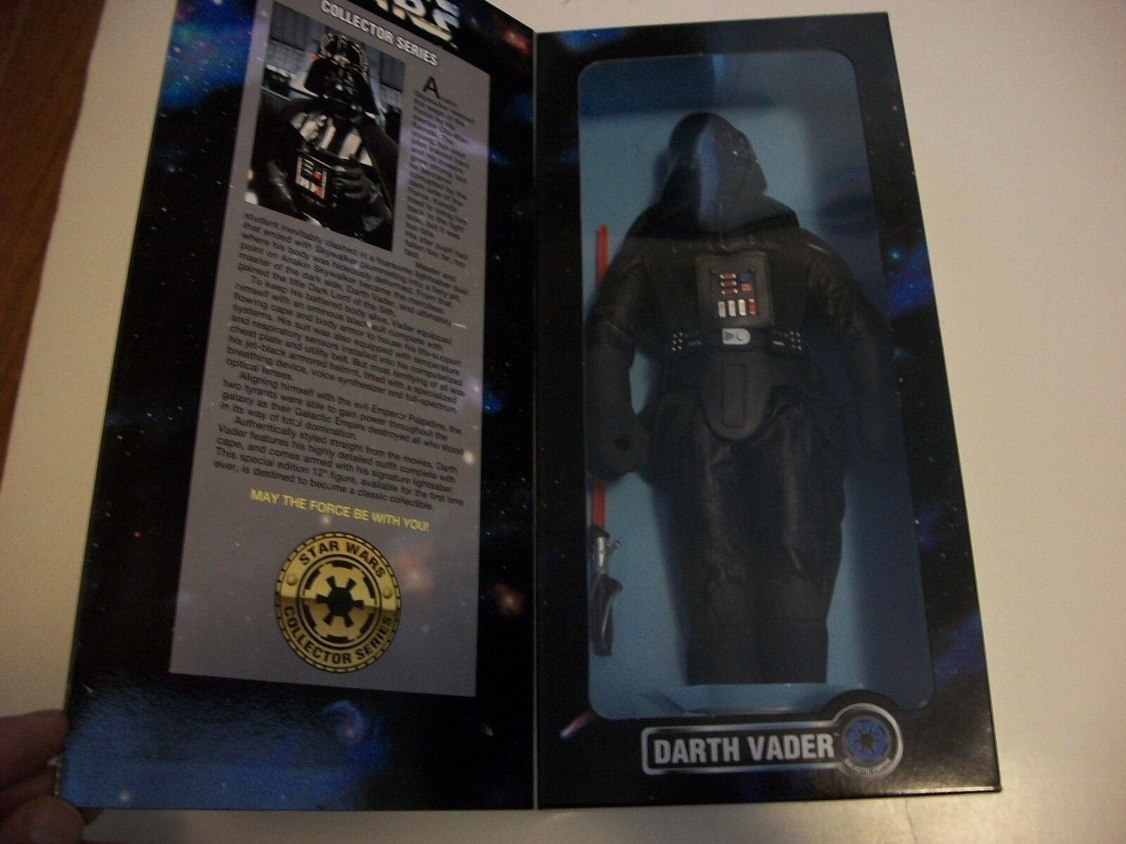Star Wars Darth Vader  12 inch figure  Kenner  1996 NRFB