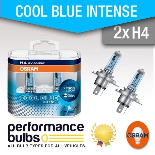 H4 Osram Cool Blue Intense BMW MINI R56 06 Headlight Bulbs Headlamp H4 x 2