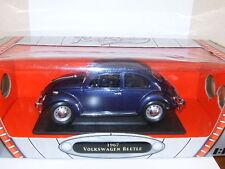 VW COX BEETLE HERBIE KAFER Bleu Nuit BOITE par ROAD SIGNATURE 1/18