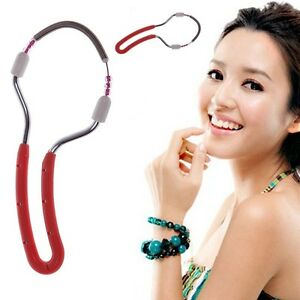 Gesicht-Epi-Roller-Feder-Enthaarung-Gewinde-Epilierer-Damen-Schoenheit-Werkzeug