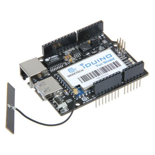Geeetech Powerful Iduino Yun Shield Linux WiFi Ethernet USB for Arduino Project
