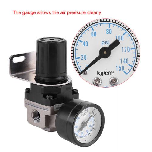 Druckluft Wasserabscheider G 1//4 Druckluft Druckminderer Druckregler Filter Hot