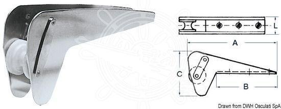 Osculati Bugrolle spezielle für Trefoil/Bruce bis kg 10 kg bis 53a638