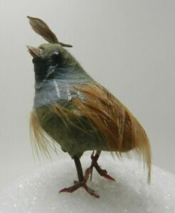 Details about Artificial Bird with Attached Wires - 2 1/2