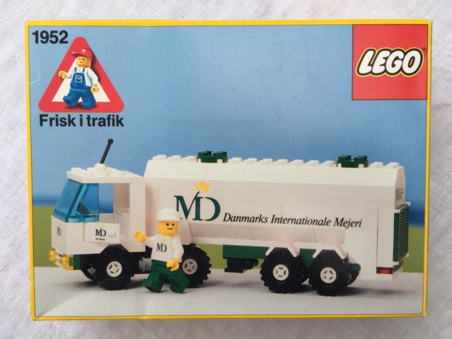 Lego City, 1952 MD Mejeri truck (1989)  Her mulighed for at…