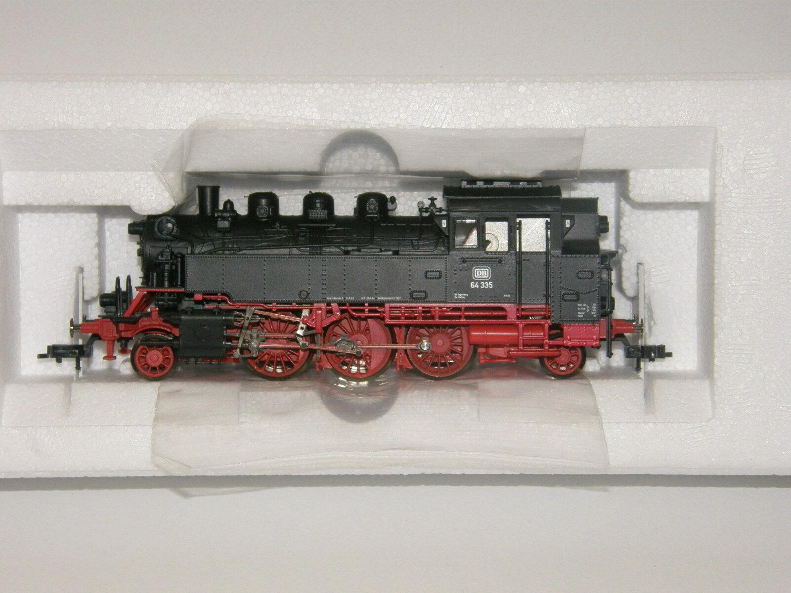 Fleischmann H0 631405-1 Locomotora Vapor Br 64 335 de DB   DCC Digital  -Nuevo