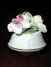 Sanford Sandford English Bone China Flower Pot/Bowl Figurine
